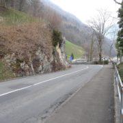 Strassenabschnitt Gersau-Forstegg