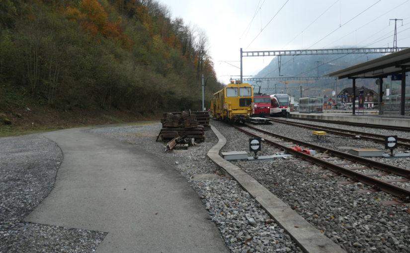 Vorprojekt zur Abstellanlage Gorgen, Giswil